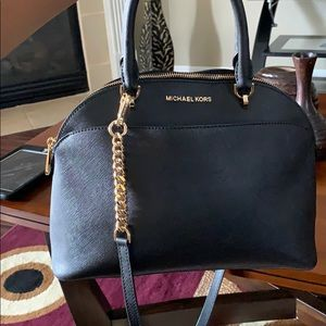 Michael Kors Black handbag/shoulder purse
